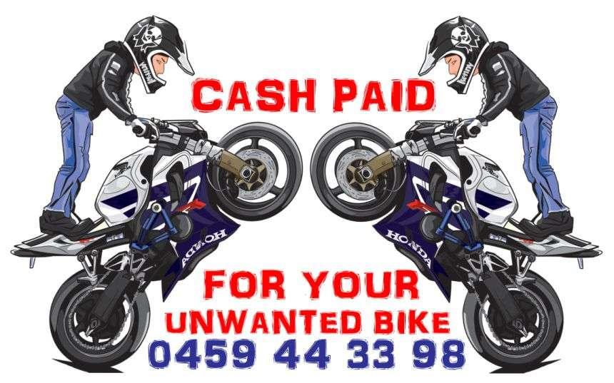 Cash For Unwanted Bike
