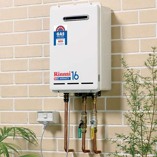 Rinnai Hot Water Installation