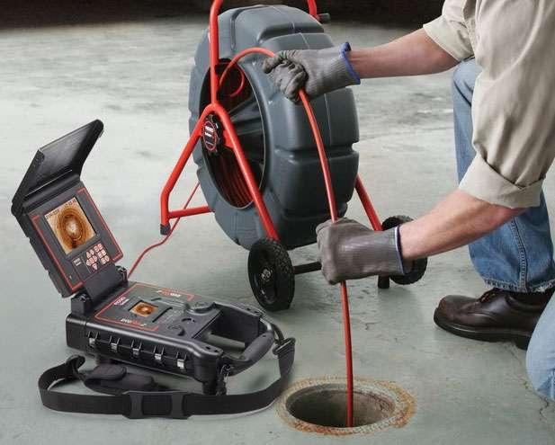 CCTV Drain Camera Inspection